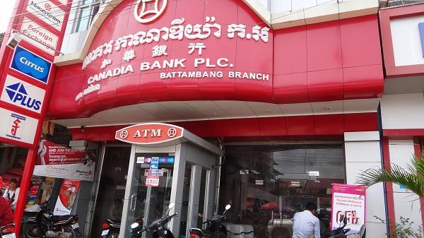 Come usare un bancomat in Cambogia