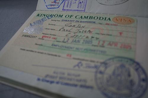 Come fare il visto turistico per la Cambogia