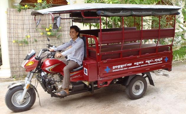 Come spostarsi e viaggiare in Cambogia