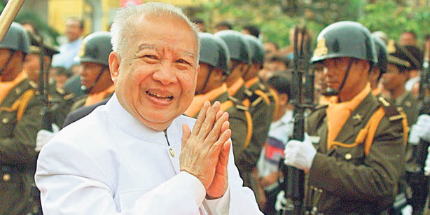 Una leggenda cambogiana: Re Sihanouk