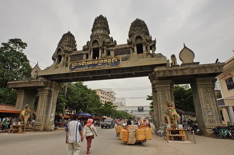 Entrare ed uscire dalla Cambogia via terra