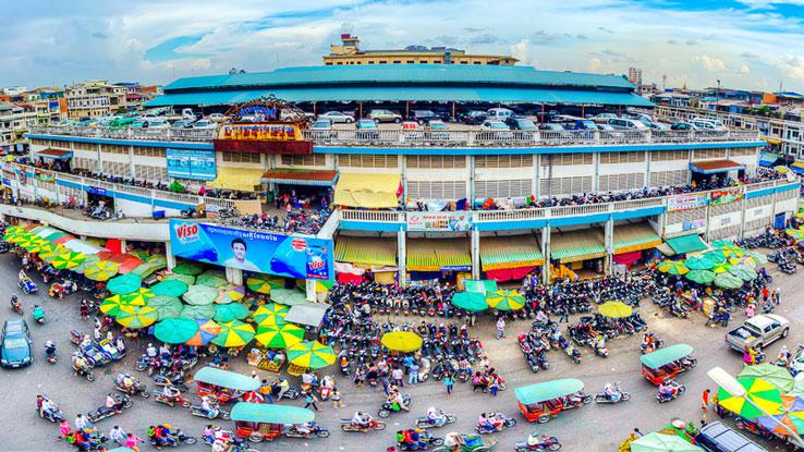 Alla scoperta dei mercati di Phnom Penh
