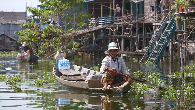 I villaggi galleggianti del Tonlé Sap
