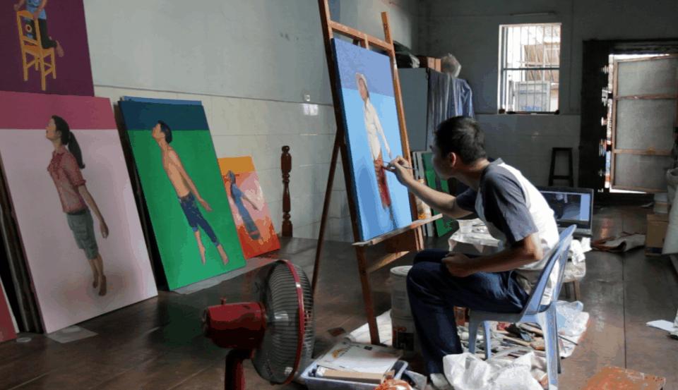 Le migliori gallerie d'arte della Cambogia.