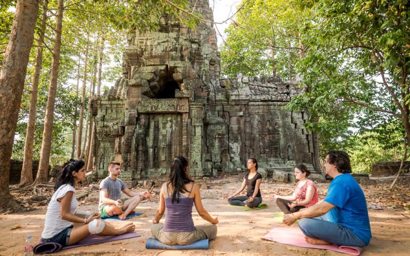 Dove praticare yoga in Cambogia